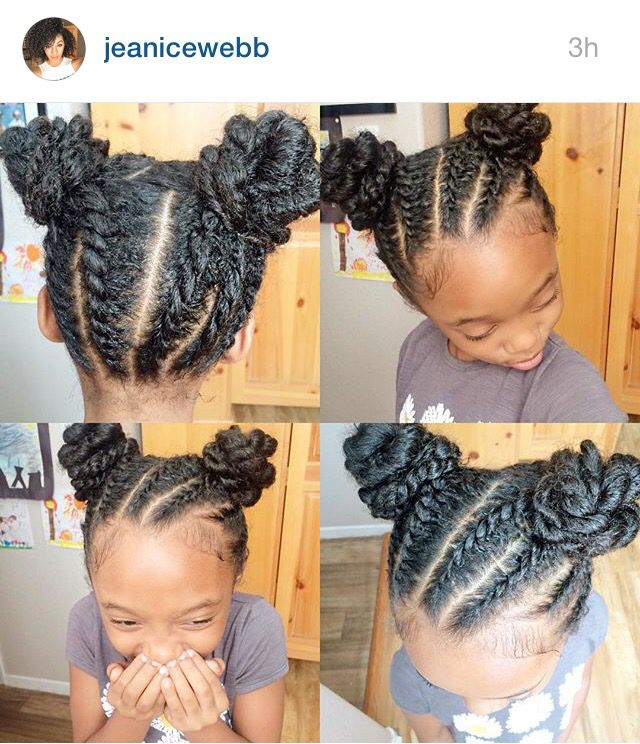 Fine 1000 Images About Natural Hairstyles Children On Pinterest Short Hairstyles Gunalazisus