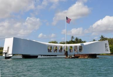USS Arizona Memorial - Photo by John Fischer, licensed to About.com