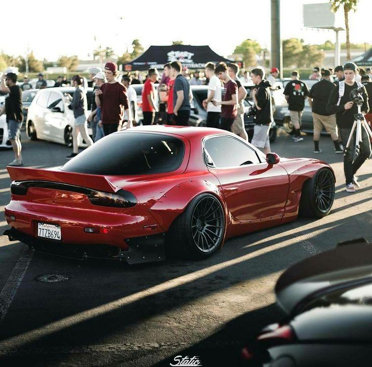 Mazda RX7 #JDM #Stance