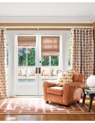 cream blinds