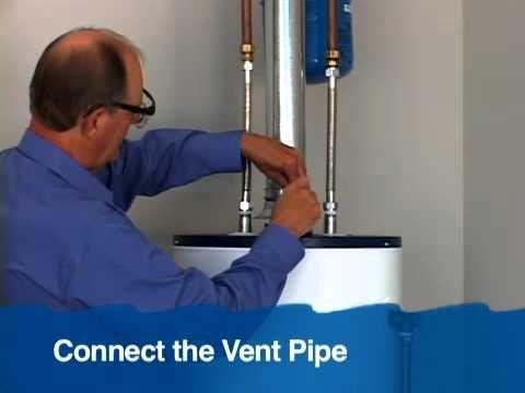Gas Water Heater Installation   YouTube. 17 Best ideas about Water Heater Installation on Pinterest