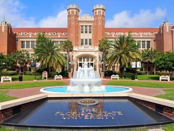Florida State University Campus   florida-state-university-campus-general-campus-fountain-at-westcott ...