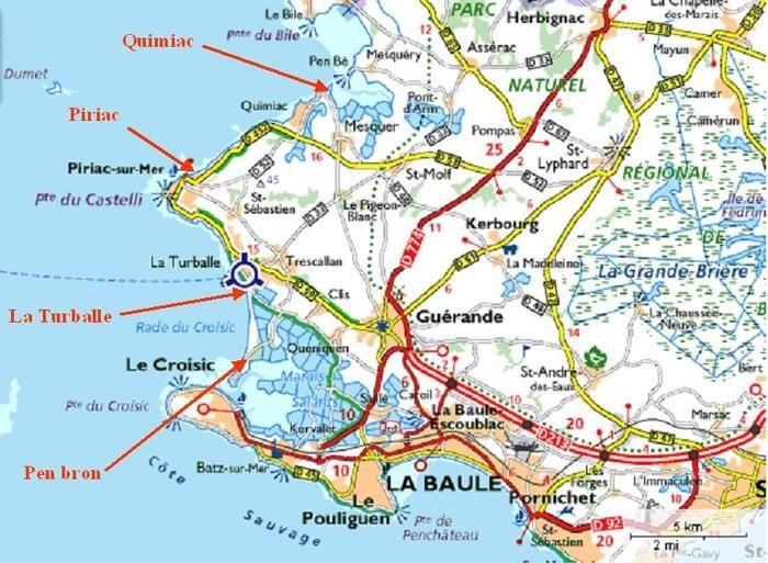Pointe De Pen Bron La Turballe Le Croisic 44 En 2020 Le