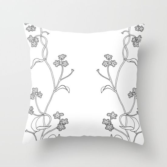 #forgetmenot forget me never, hold me a lot, have me forever <3  New floral products on my society6 store :)