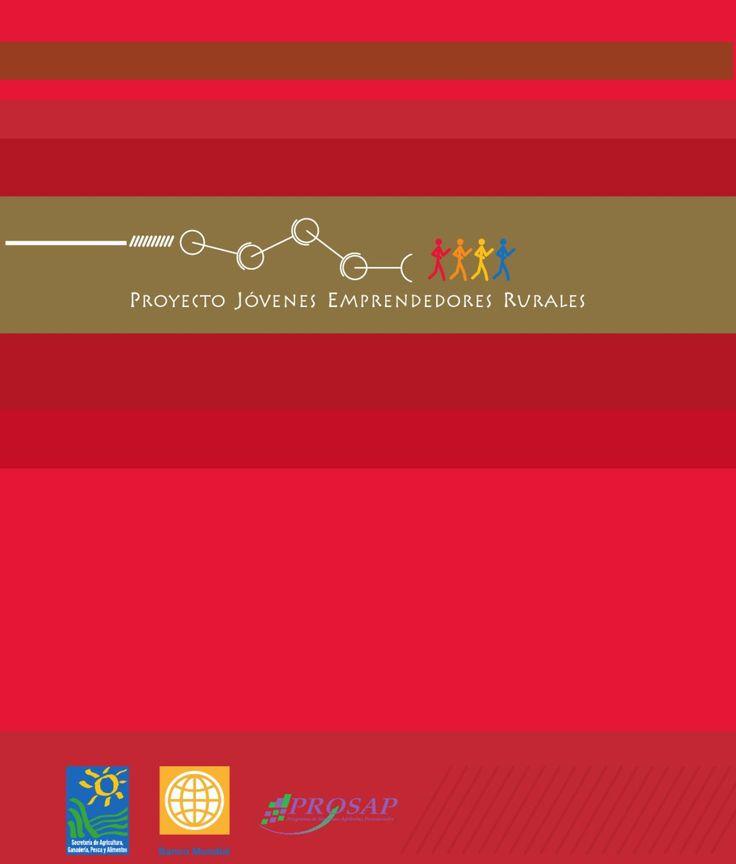 """Manual para el capacitador del proyecto """"Jovenes emprendedores rurales"""""""