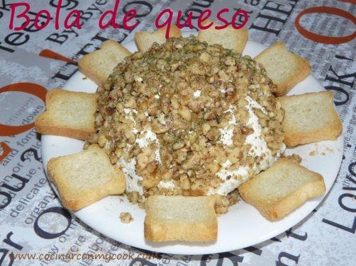 Bola de queso para #Mycook http://www.mycook.es/receta/bola-de-queso/