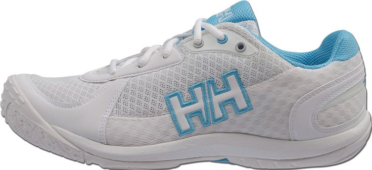 Helly Hansen Sail Power 2 - Womens  A perfect blend of performance sailing shoe and light summer sneaker.  Features a quick-dry, breathable synthetic mesh upper, guard to support and protect the top of the foot, molded EVA, and removable midsole.