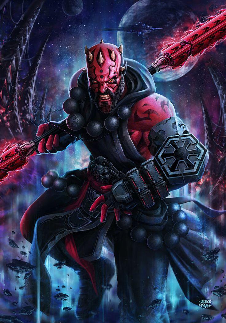 MONK Darth MauL (Star Wars X Diablo 3) by sadeceKAAN