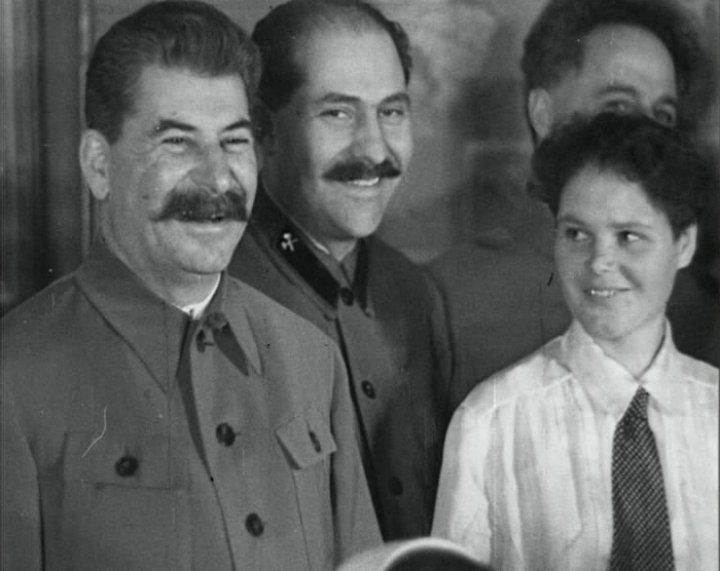 Joseph Stalin  Joseph Stalin (the one on the left) was the Soviet Union ruler from the mid-20s to his death in 1953. He has gone down in history as being one of the most controlling and murderous dictators the world has seen. His regime of fear caused the death and suffering of many millions - some estimates put deaths at 20-30 million.