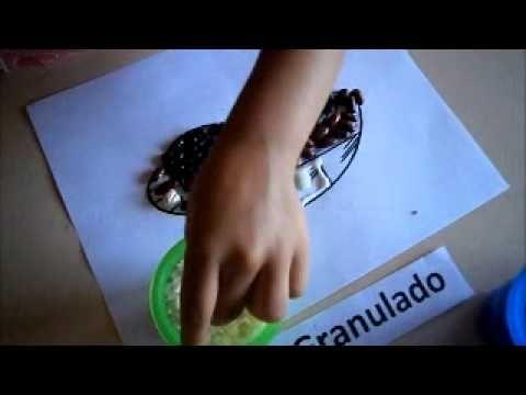 ETAPA DEL GARABATEO 2-4 AÑOS Se les entrega el dibujo y tienen q colocar los granitos - garabateo controlado