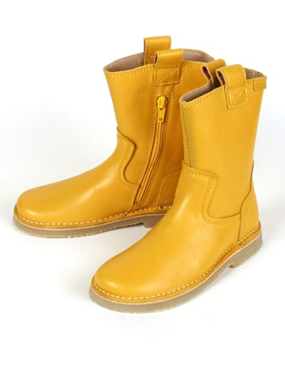 Yellow Keesje boots - Koel for Kids