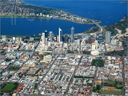 Photo of An aerial view of Perth City. 4