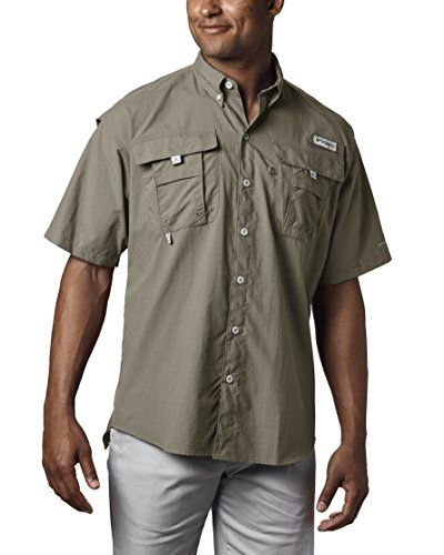 8b939c35b7f Columbia Men's Bahama II Short Sleeve Fishing Shirt (Sage... #affiliate
