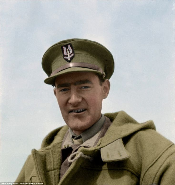 Lt Colonel David Stirling, founder of the SAS, pictured in North Africa. Stirling persuaded his superior officers to allow him to found the unit in order to carry out raids against German airfields using small teams of highly trained men operating at night. Over the next 15 months he oversaw the destruction of 250 aircraft and put hundreds of vehicles out of action before being captured. He was dubbed 'The Phantom Major' by Rommel, and branded 'quite mad' byField Marshal Montgomery