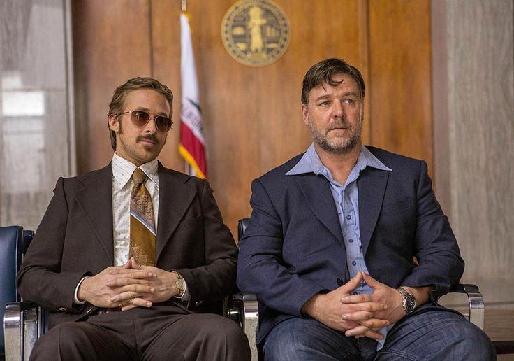 Ryan Gosling et Russell Crowe forment un duo improbable dans la comédie de Shane Black, The Nice Guys.