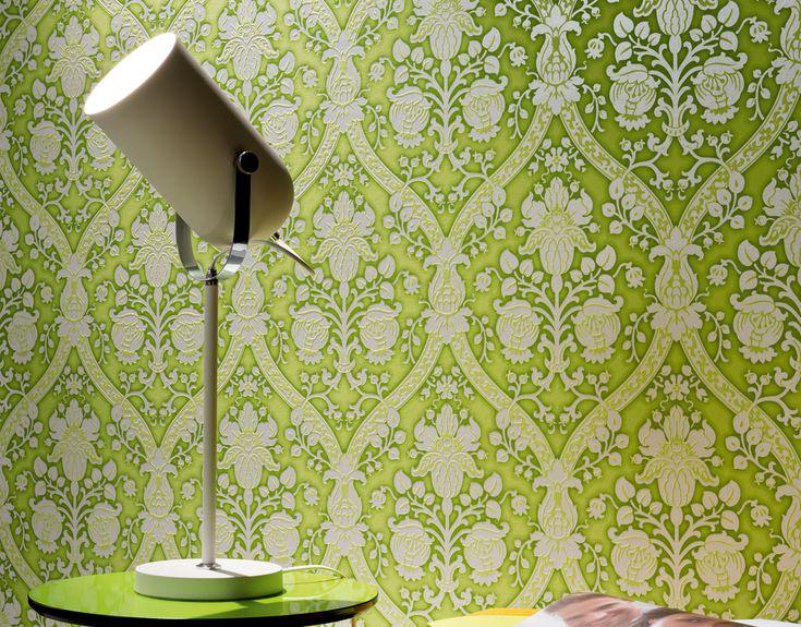 El #papelpintado da calidez y estilo a tu hogar. Y con la coleccion #flock4 todavía más.