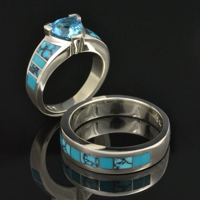 The 25+ best Turquoise wedding rings ideas on Pinterest ...
