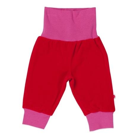 Småfolk, Byxa i sammet, Röd Mjukisbyxor - Lekmer.se – Baby och Barnkläder på nätet.
