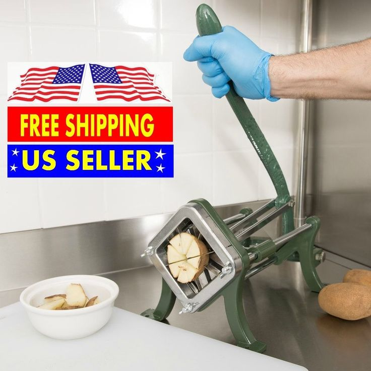 Be a star chef! Home kitchen / Kitchen diy remodle / Choice Potato Wedge Cutter - 8 Wedge French Fry Cutter / Slicer Potato peeler #Choice