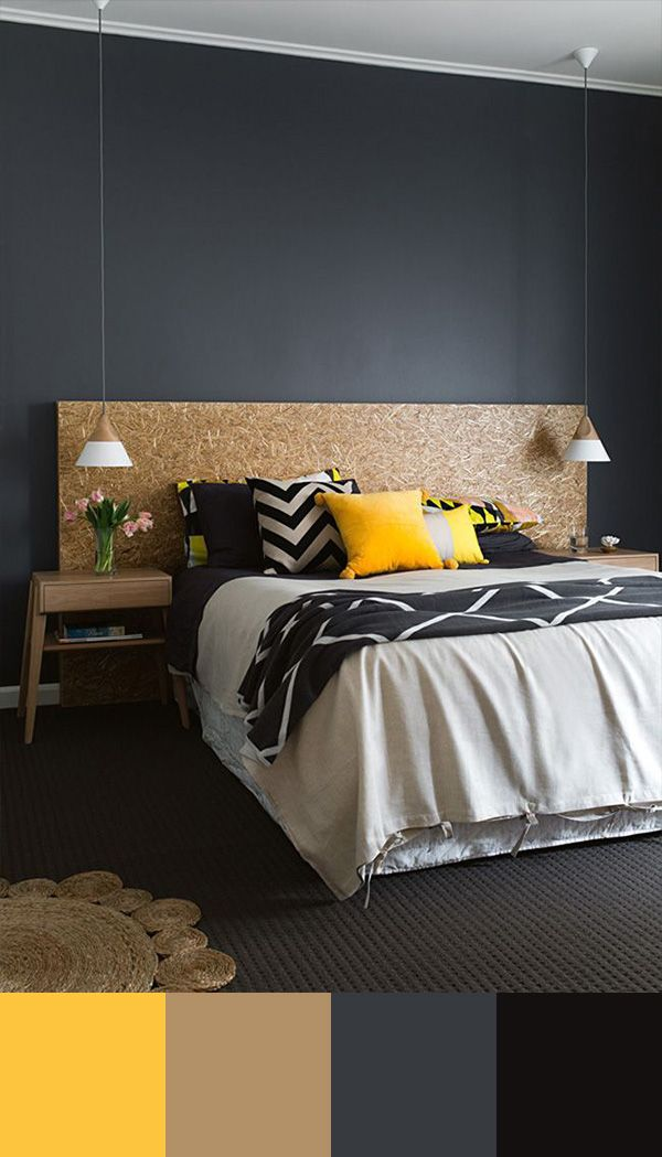 bedroom-color-scheme-yellow-and-grey bedroom-color-scheme-yellow-and-grey