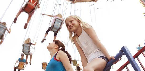 Särkänniemi Adventure Park in Tampere, Finland.