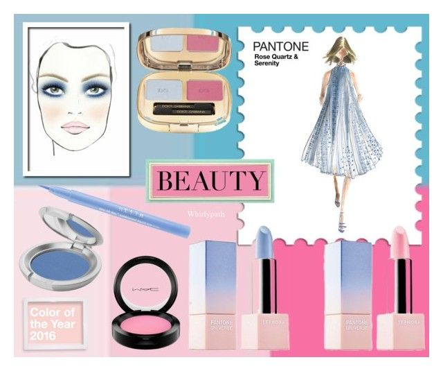 Pantone 2016 Beauty! by whirlypath on Polyvore featuring beauty, T. LeClerc, MAC Cosmetics and Stila