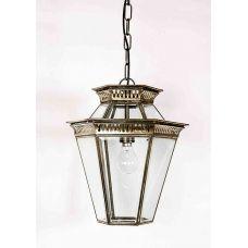 Brass Edwardian Period Outdoor Hanging Lantern