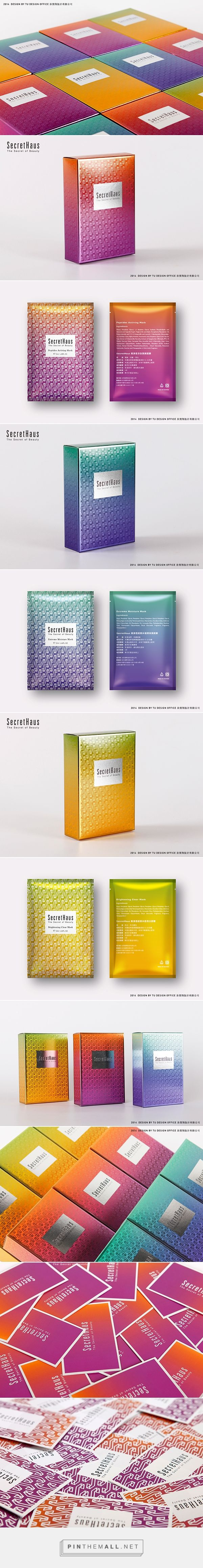 SecretHaus  cosmetic brand   face care PD