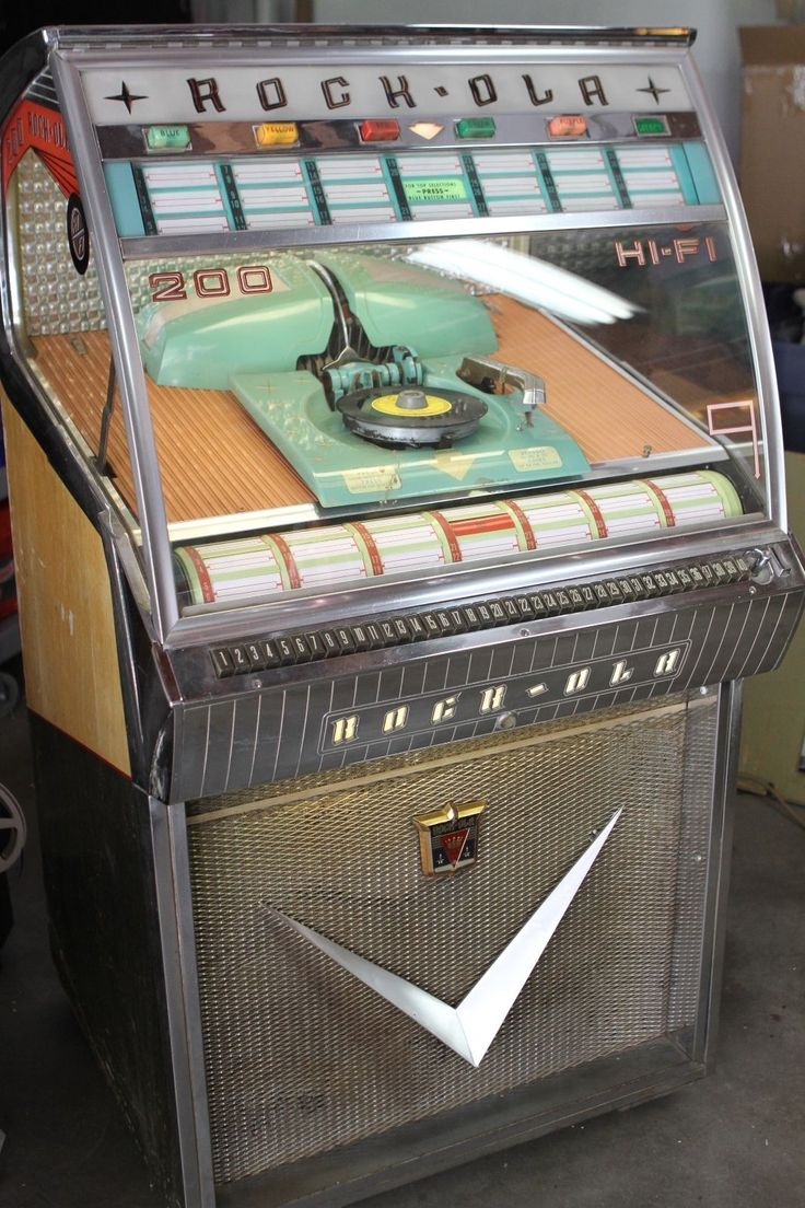 1958 Rockola 1465 Jukebox