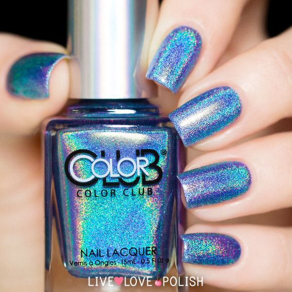 When you want to wear the beauty of the Ocean...Color Club Crystal Baller   Live Love Polish.