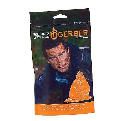 Gerber: Bear Grylls Survival Blanket #GideonTactical