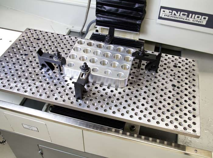 Clamps, Hold-Downs, and Fixtures | Tormach LLC providers of personal small CNC machines, CNC tooling, and many more CNC items.