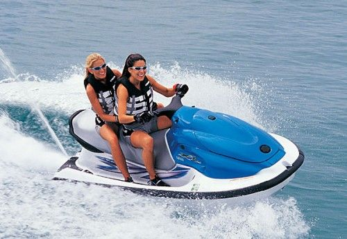 Jet Ski...Yeah can you imagine how much fun that would be.
