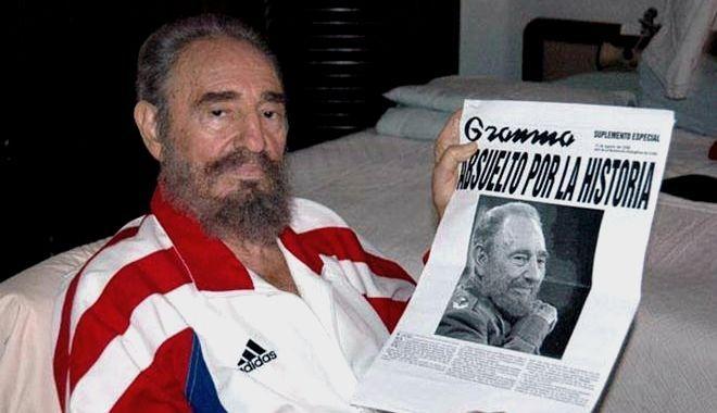 Η ΑΠΟΚΑΛΥΨΗ ΤΟΥ ΕΝΑΤΟΥ ΚΥΜΑΤΟΣ: Η εμβληματική απολογία του Φιντέλ Κάστρο: 'Η ιστορ...