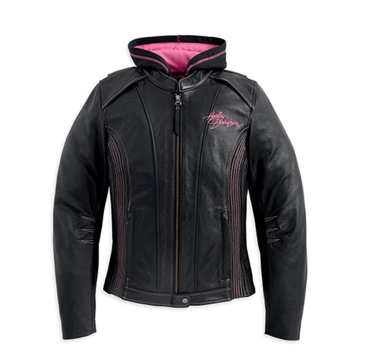 Harley leather jackets for women