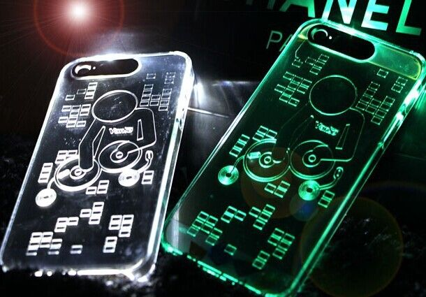 music person led phone case