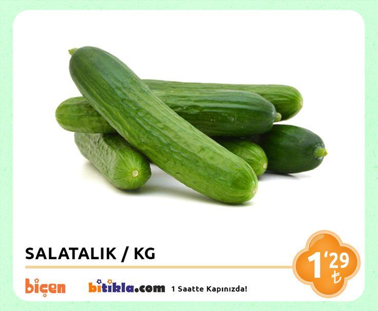 #Manav Reyonumuzda Bugün; #Salatalık KG 1,29₺ Ayrıca #Bitıkla http://www.bitikla.com/ 'la 1 Saatte kapınızda.