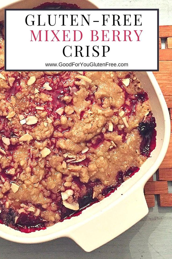 Gluten-Free Mixed Berry Crisp 2