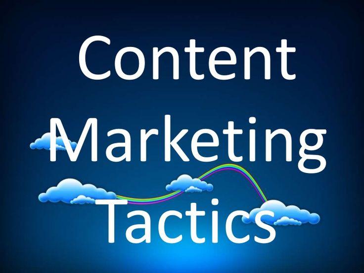 Perfect Tactics For Effective Content