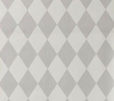 Ferm living tapet harlequin grå