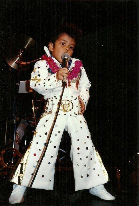 Childhood photo of Bruno Mars  http://celebrity-childhood-photos.tumblr.com/