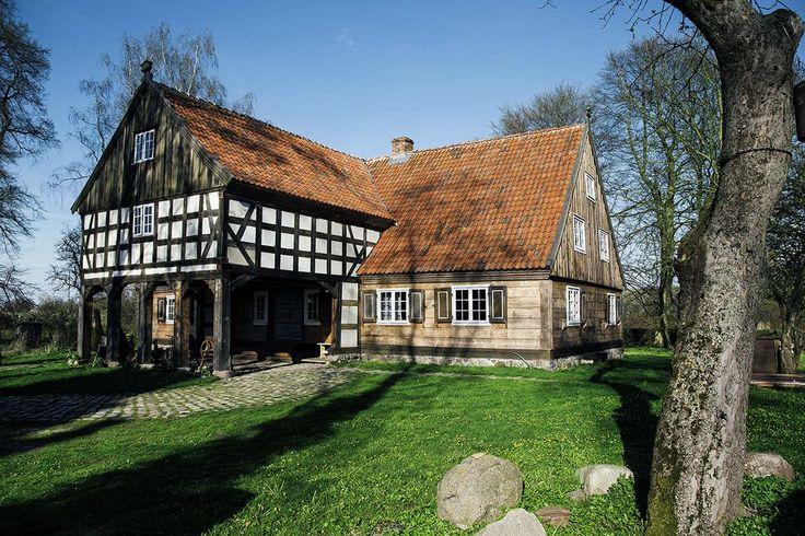 Mały Holender – dom podcieniowy na Żuławach #dom #projekt #Żuławy #house #project #architecture