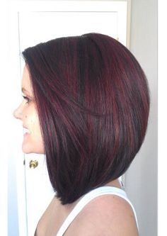 Hairstyles, Colours & Cuts on Pinterest | Stacked Bobs, Bob ...
