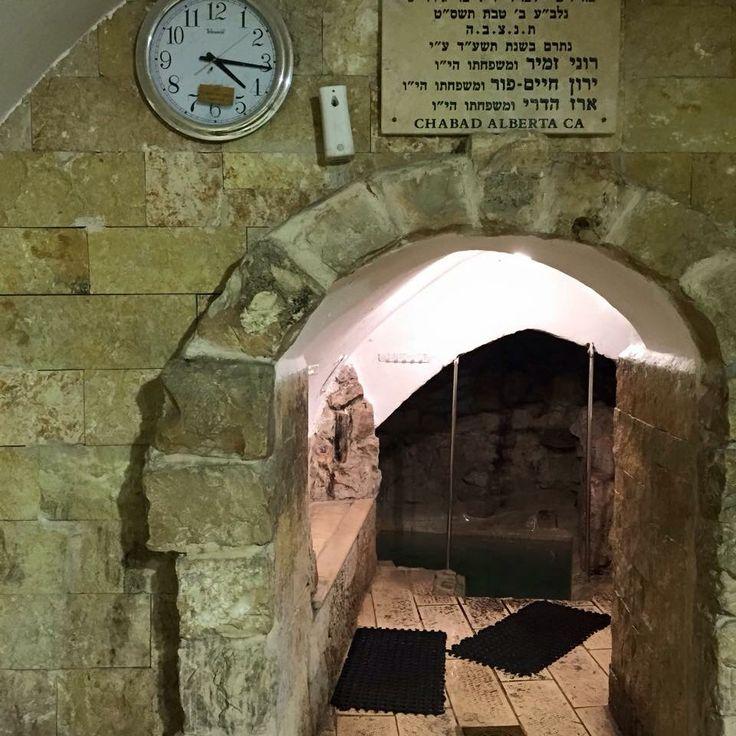 Ari's mikveh