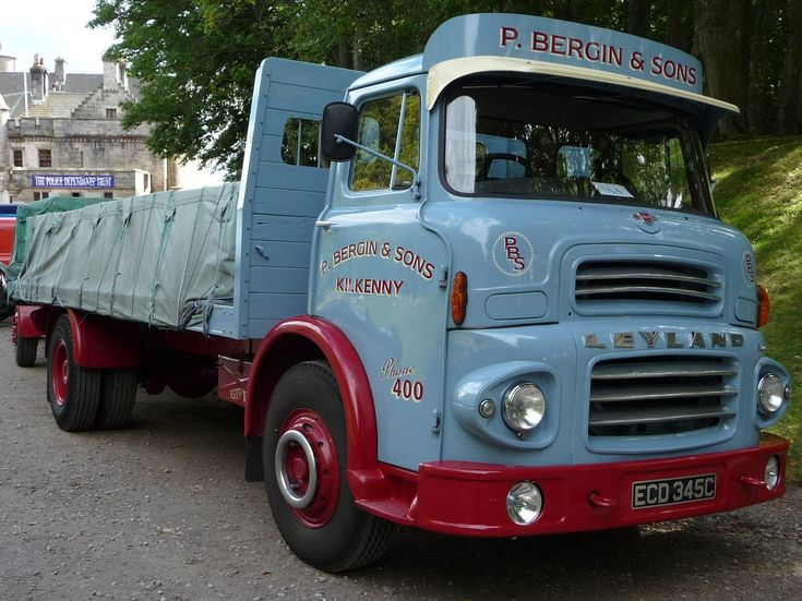 1965 Leyland Comet four Wheel Flat in P Bergin and Sons Livery