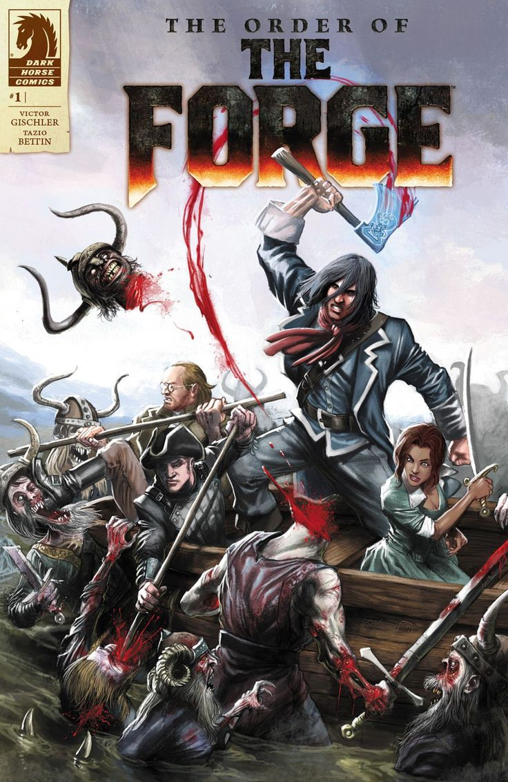 The Order of the Forge Comic Cover