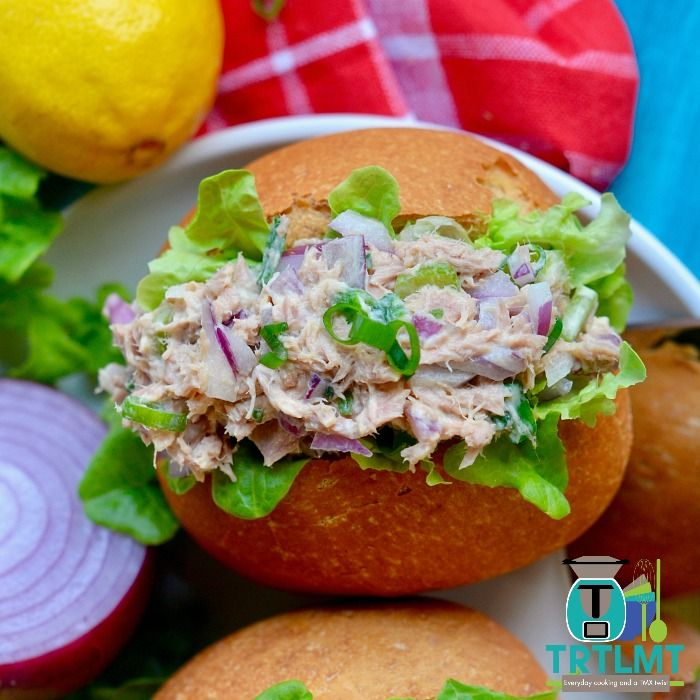 5 Minute Tuna Salad – The Road to Loving My Thermo Mixer