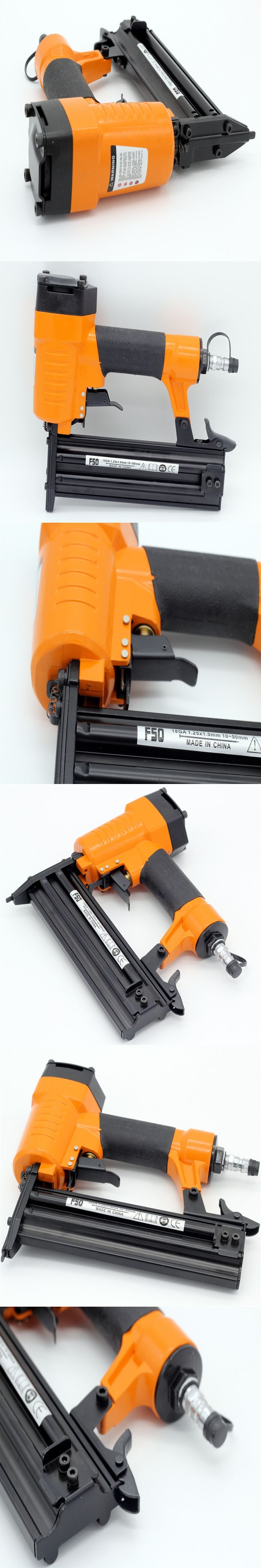 Free Shipping Air Nailer gun pneumatic air stapler power tools pneumatic tools air tools F50 straight nail gun