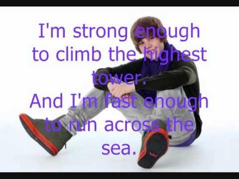 ▶ Justin Bieber ft Jaden Smith Never say never Lyrics - YouTube