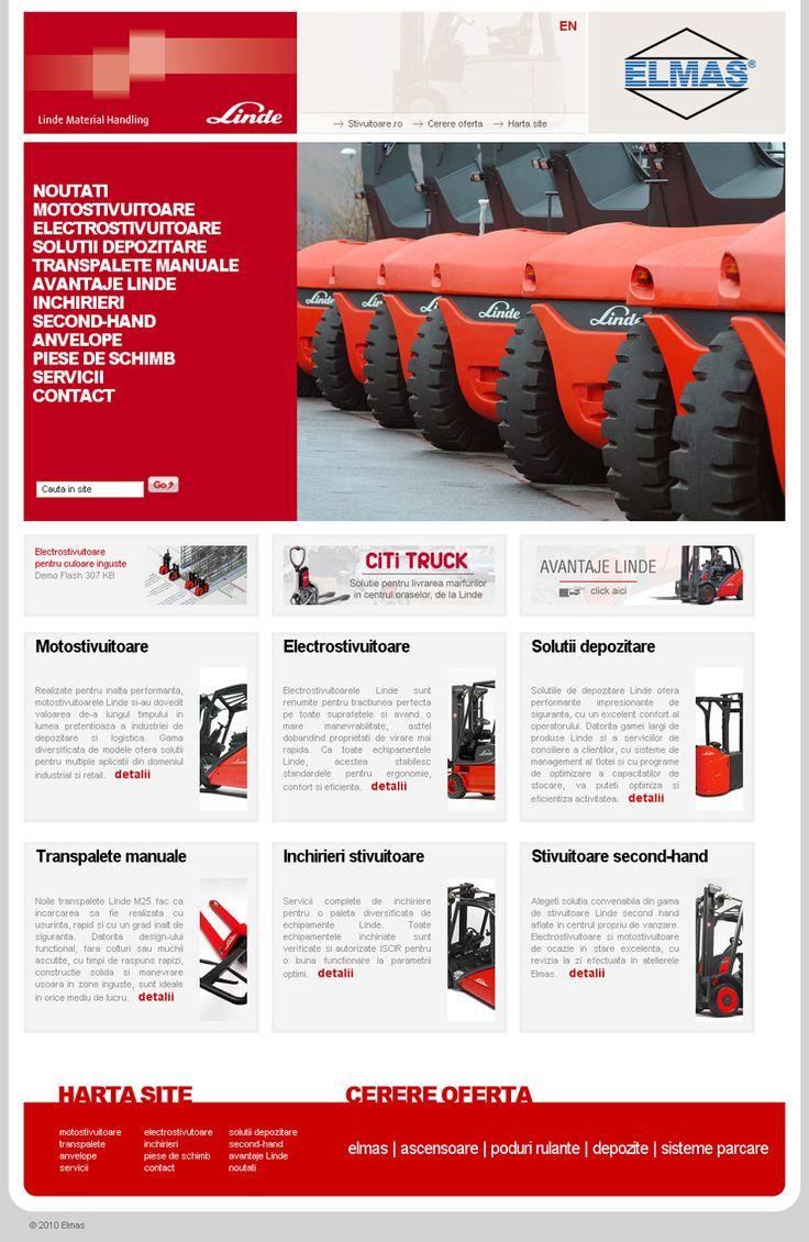 Presentation web site for a Romanian Industrial Company: http://www.stivuitoare.ro